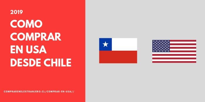 como comprar en estados unidos desde chile