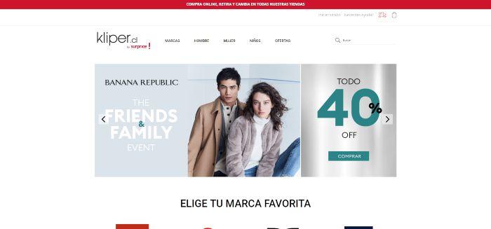 paginas para comprar ropa en linea chile