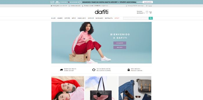 comprar ropa online en dafiti