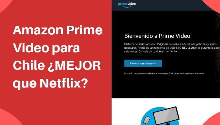 Amazon Prime Video Es Mejor Que Netflix Gratis Por 30 Dias